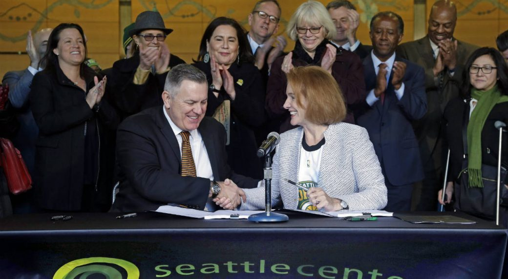Seattle Group Formally Files For NHL Expansion Team