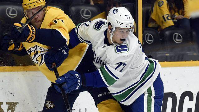 Vancouver-Canucks-right-wing-Nikolay-Goldobin.-(Mark-Zaleski/AP)