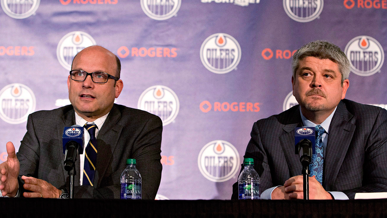 Oilers keep Chiarelli as president, GM for next season