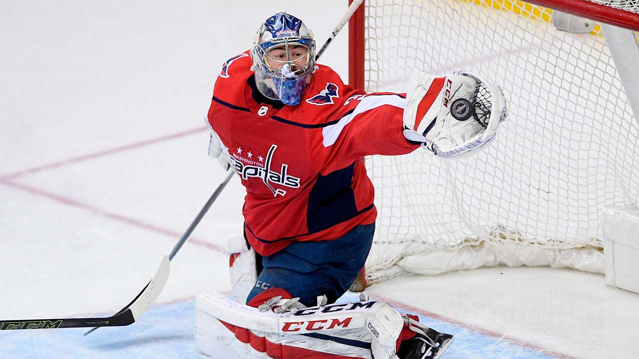 Capitals trade Grubauer, Orpik to Avalanche for draft pick