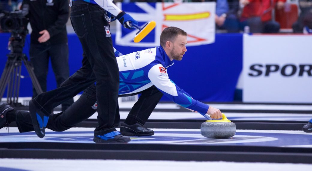 Team Gushue finishes season with Champions Cup win