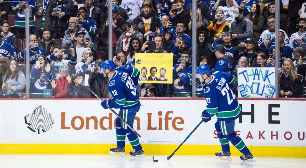 Canucks to retire Sedin twins  numbers next season - Sportsnet.ca 4ab180e6c