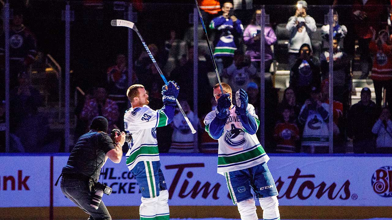 Sedins' Farewell Can't Cut Through Sorrow Of Humboldt Tragedy