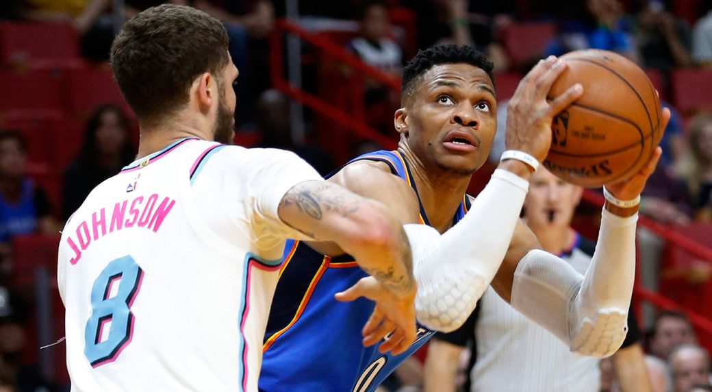 Carmelo Anthony: Thunder Players Are 'Cool' With Russell Westbrook Stealing Rebounds