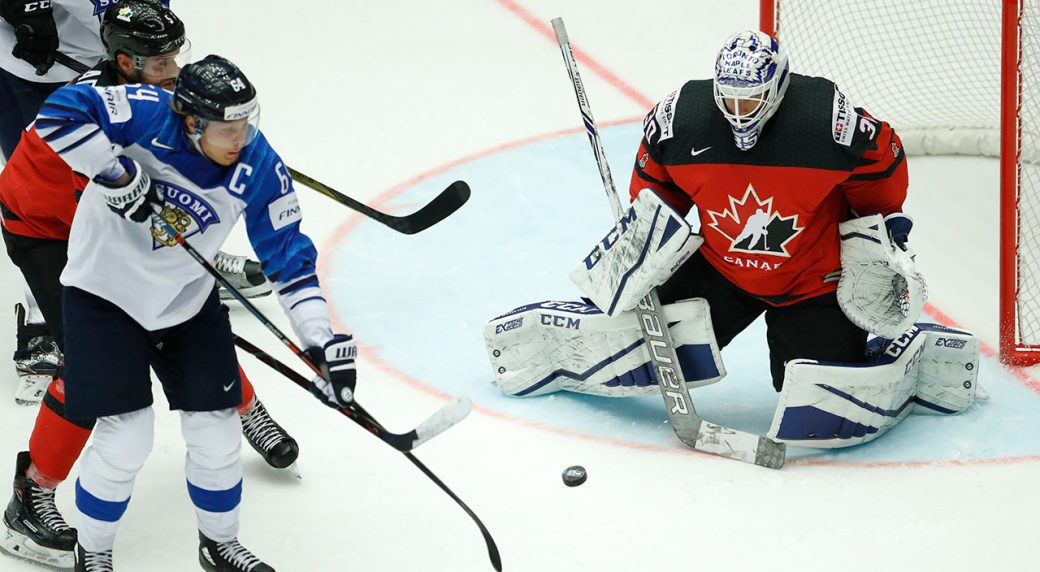 Worlds: Rantanen Scores Twice As Finland Dumps Canada At Hockey Worlds