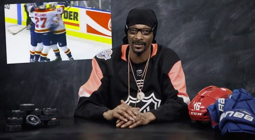 Hats, Handshakes And A Stanley Special: Snoop Dogg On Hockey Tradition