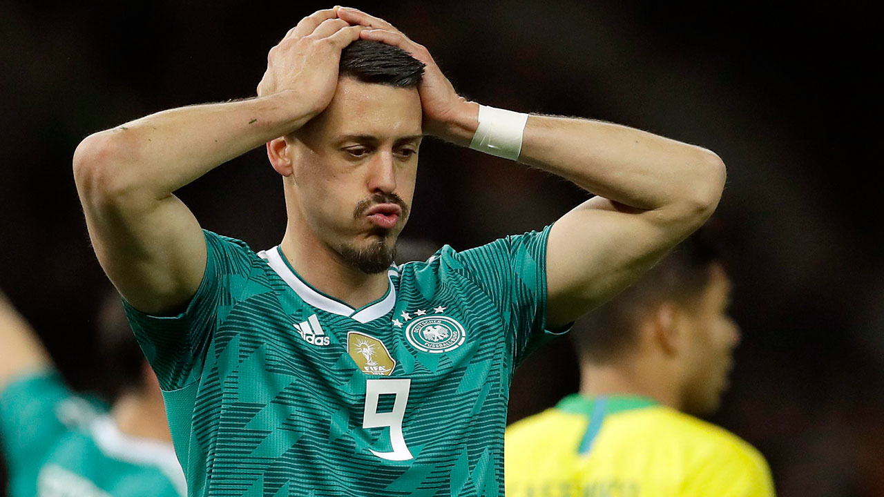 Bayern's Sandro Wagner quits Germany over World Cup omission