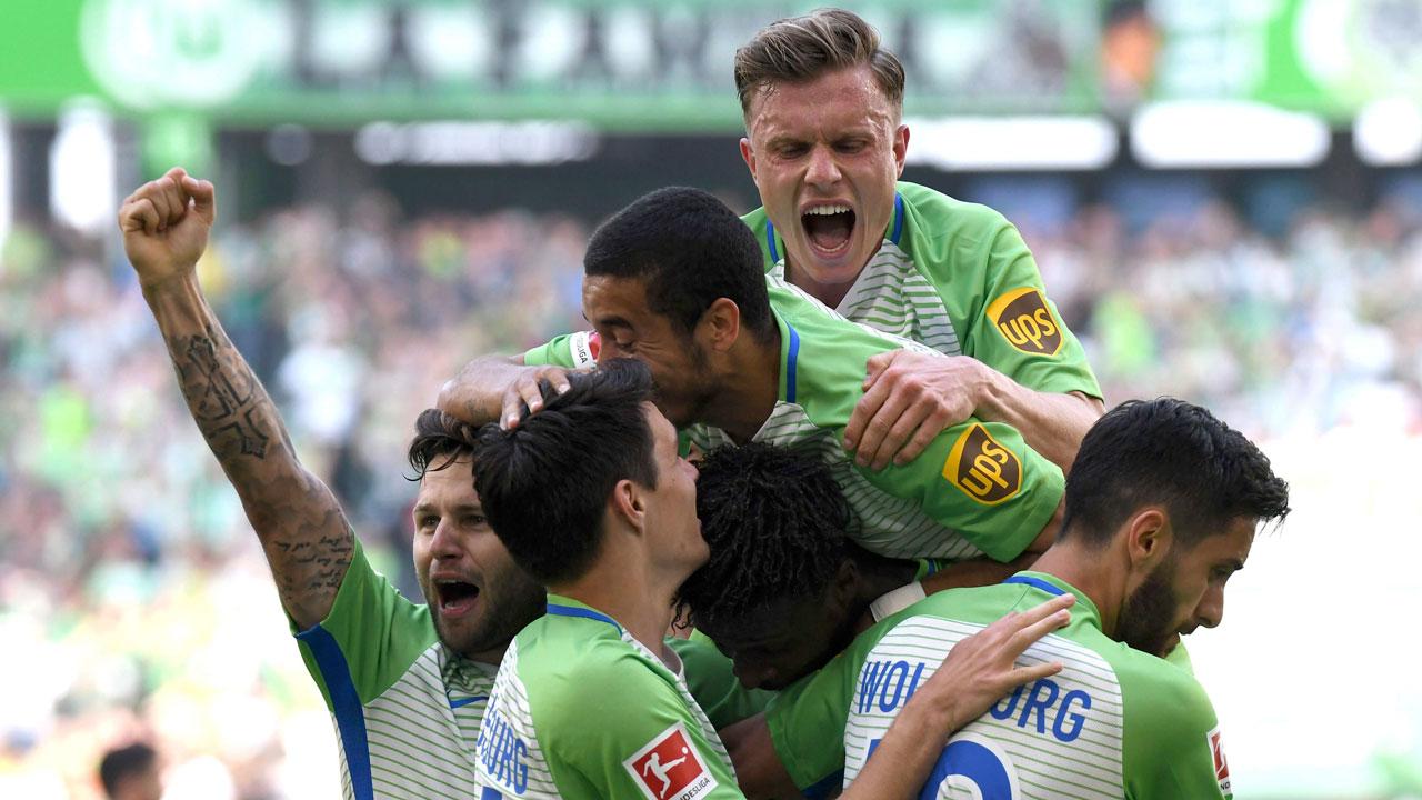 Wolfsburg beats Kiel to boost Bundesliga survival hopes