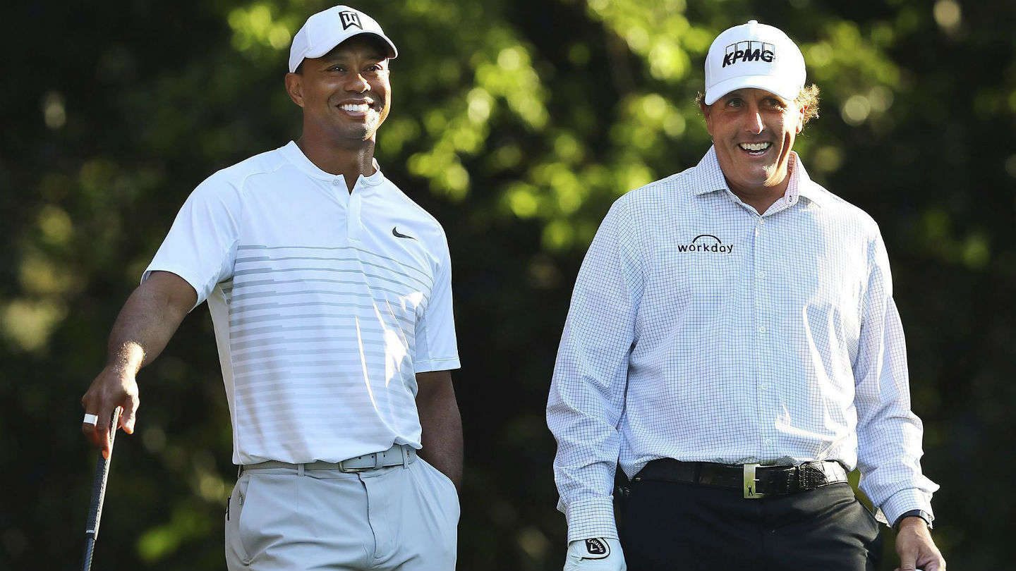 report: tiger woods, phil mickelson planning $10-million grudge