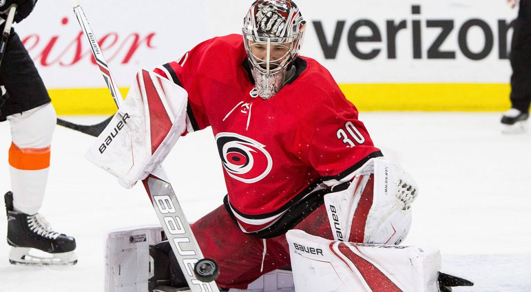 Cam Ward leaves Hurricanes for one-year deal with Blackhawks ... 87217e120