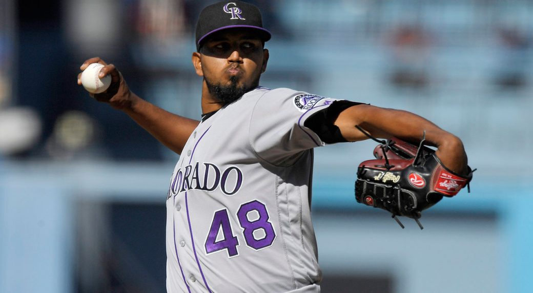 Marquez pitches Rockies to 3-1 win over Dodgers