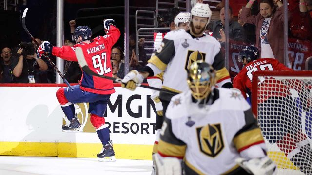 Washington-Capitals-forward-Evgeny-Kuznetsov-celebrates