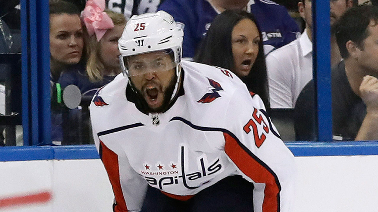 Capitals  Smith-Pelly speaks out against Trump - Sportsnet.ca e4d697f45ac