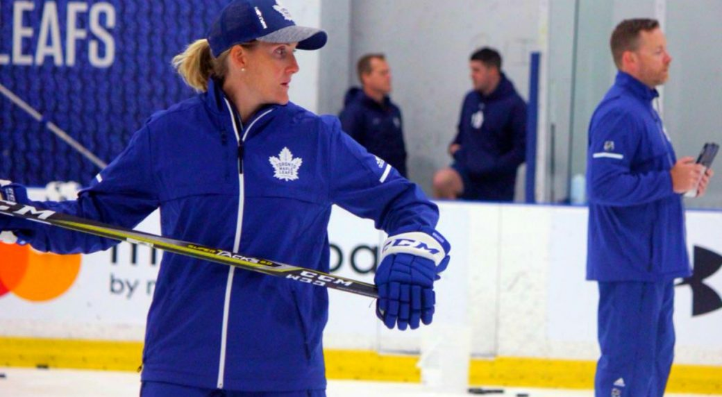 Maple Leafs development camp notes  Wickenheiser coaching prospects ... ee70e29fabd
