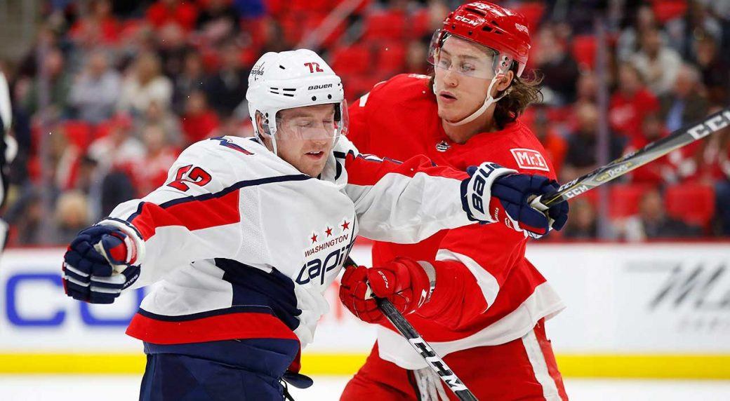 Capitals re-sign centre Travis Boyd to two-year deal - Sportsnet.ca d48543a0542