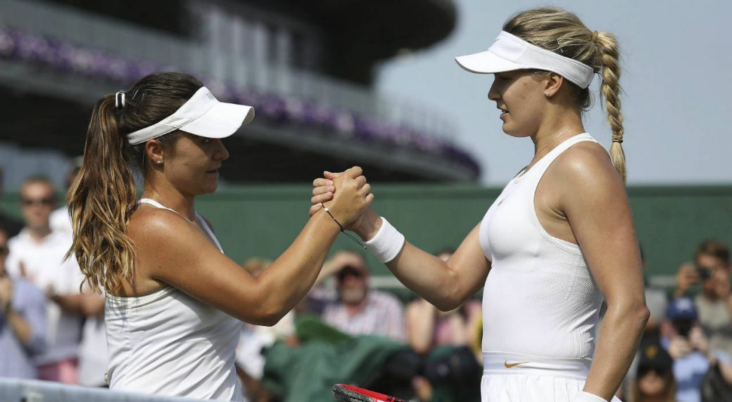 Canadian Eugenie Bouchard ousted in second round at Wimbledon