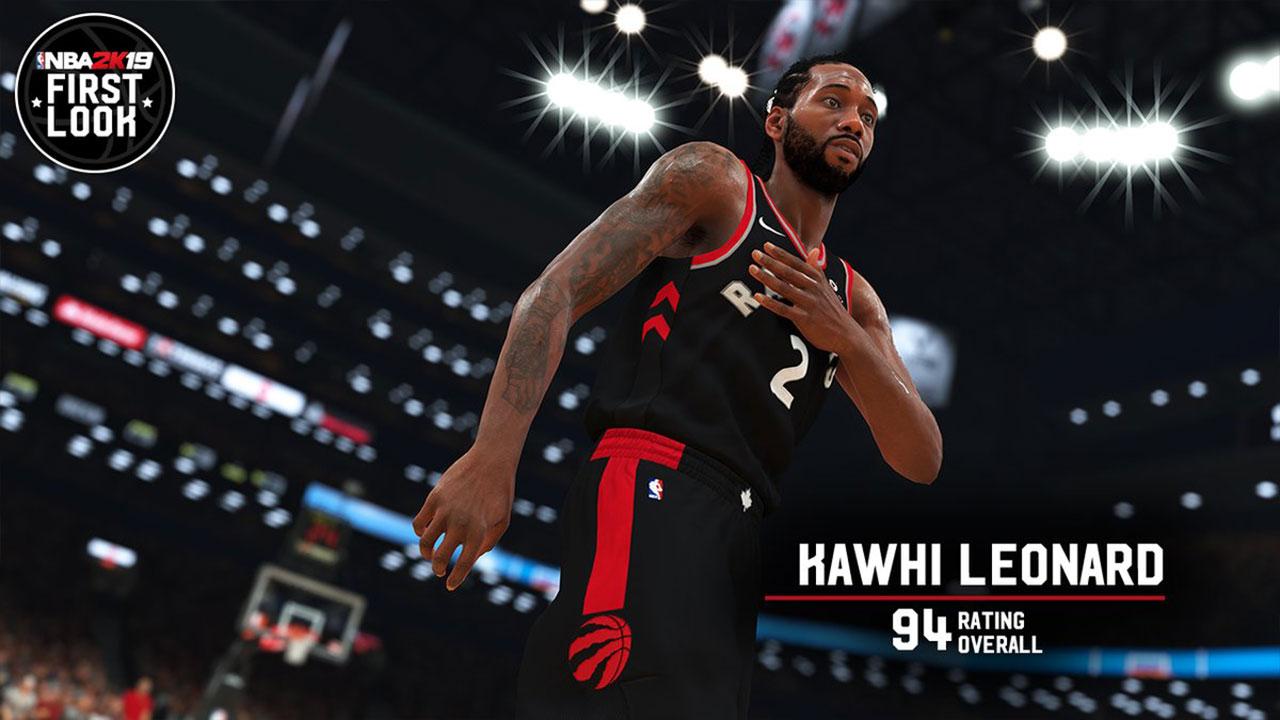 NBA 2K rating released for Raptors  Leonard 582f8480c
