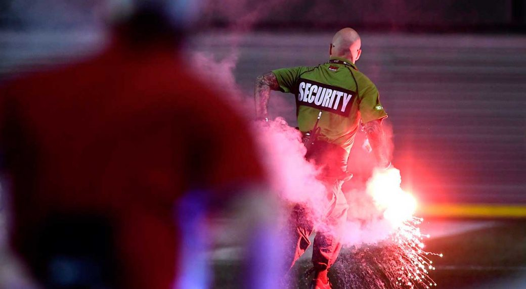 TFC suspends supporter group after fires set during game in Ottawa