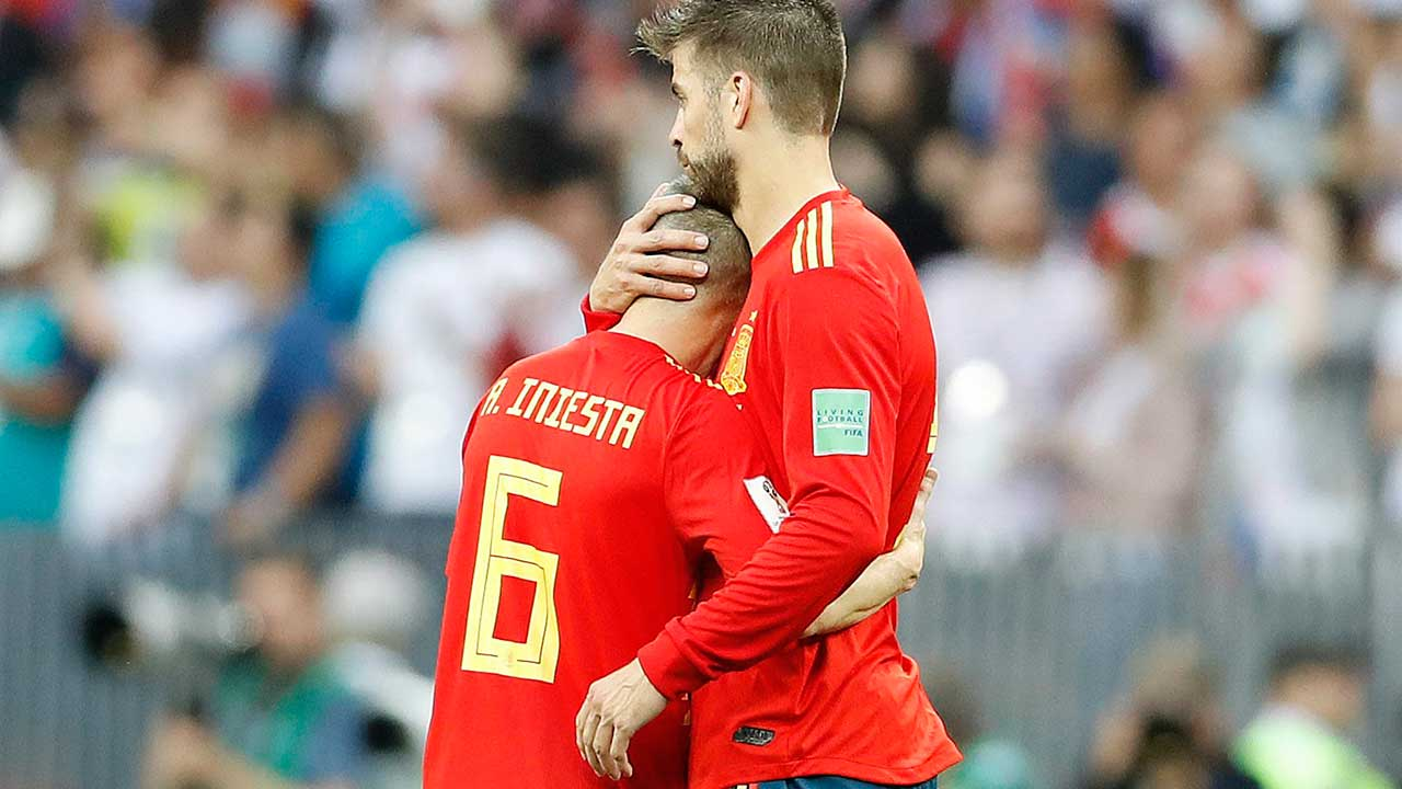 End of the line for Iniesta as Russia spoils Spain's World Cup dreams