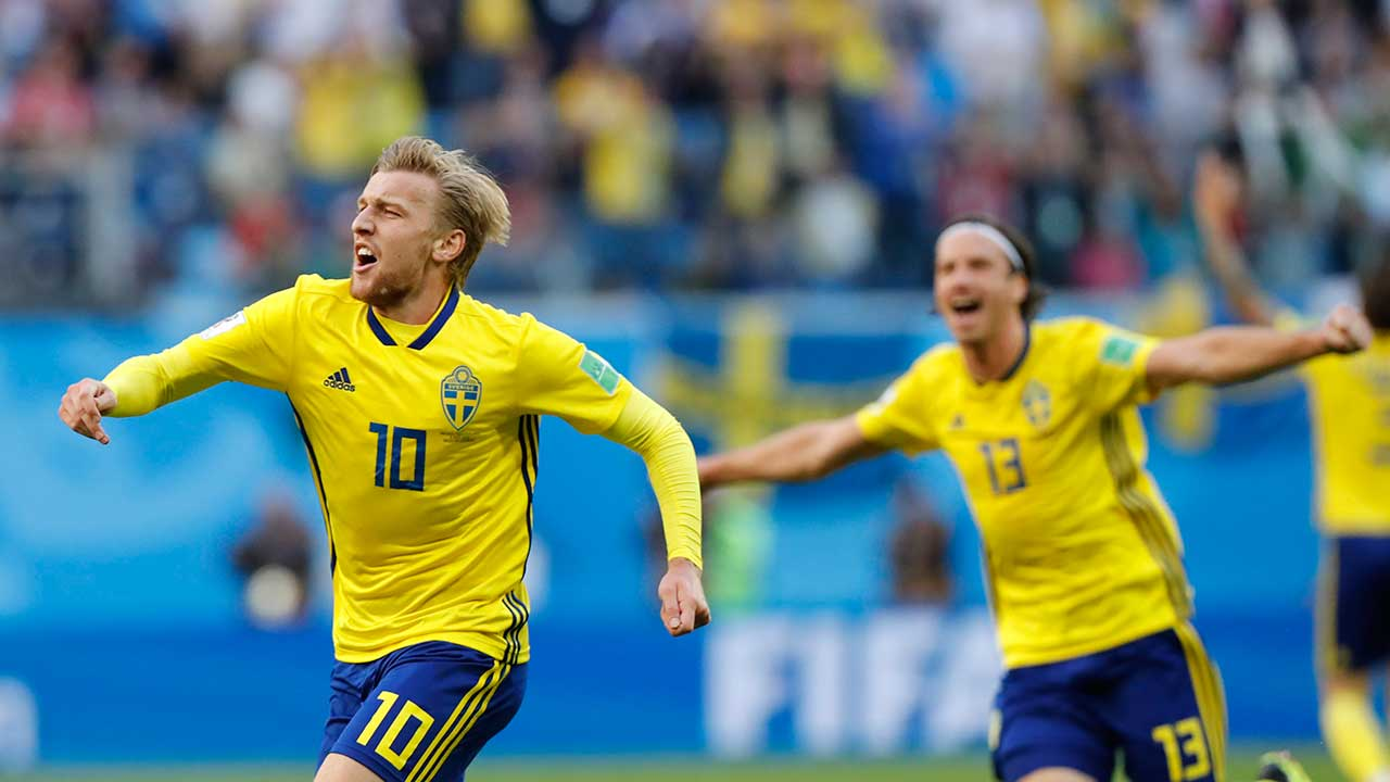 Among smaller soccer nations, Sweden's success may be biggest surprise