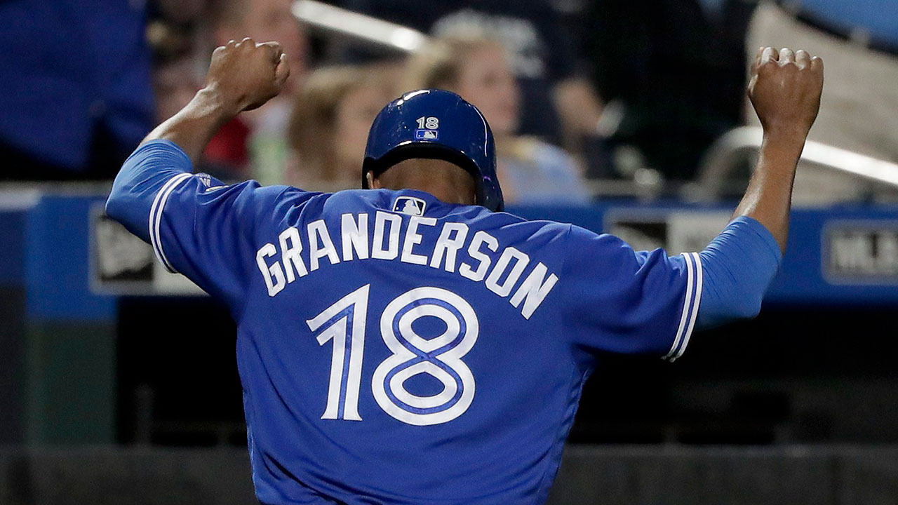 Blue Jays' Granderson leads 'incredible' team trip to Negro Leagues Museum
