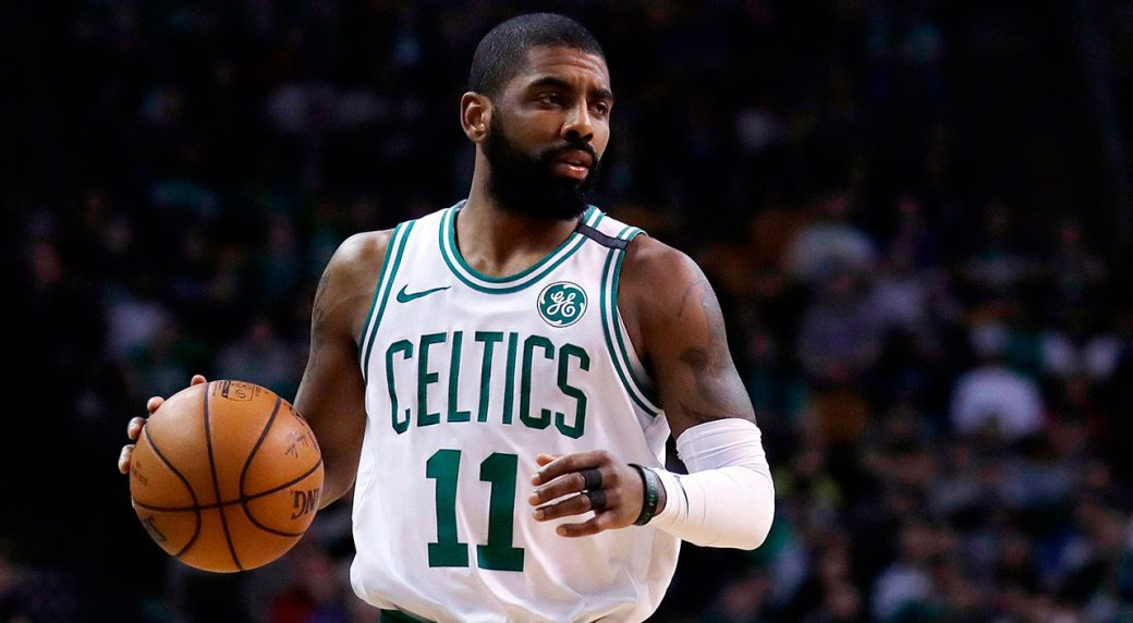 Celtics' Kyrie Irving named Little Mountain as member of Standing Rock Sioux