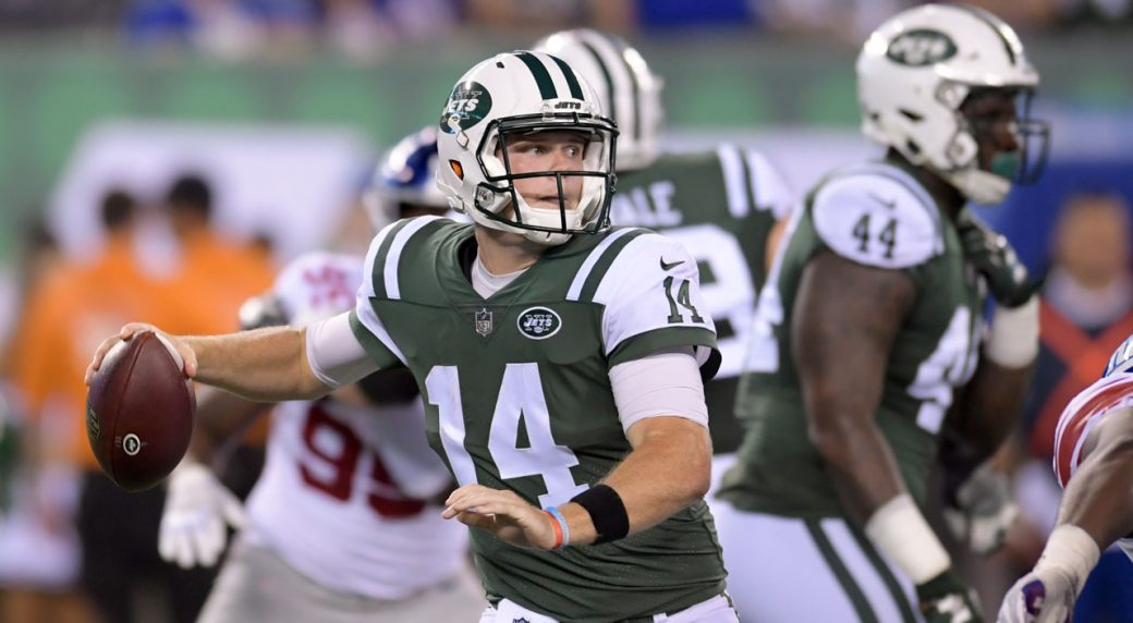 Jets officially begin the Sam Darnold era