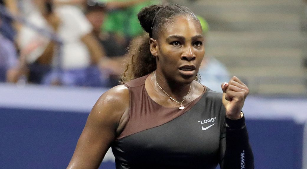 Serena gets warm welcome and win in U.S. Open return