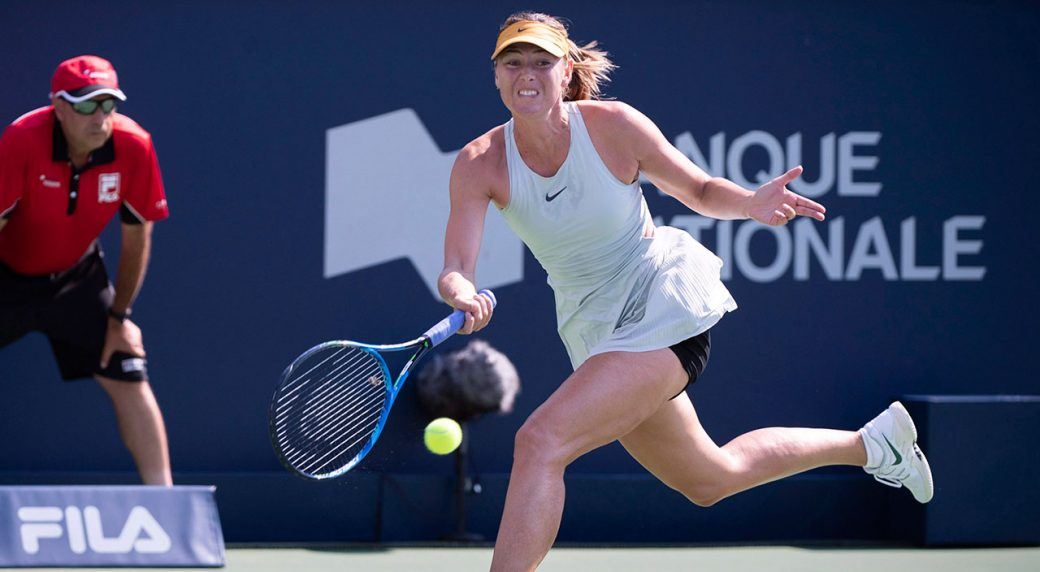 Sharapova storms past Kasatkina in Montreal