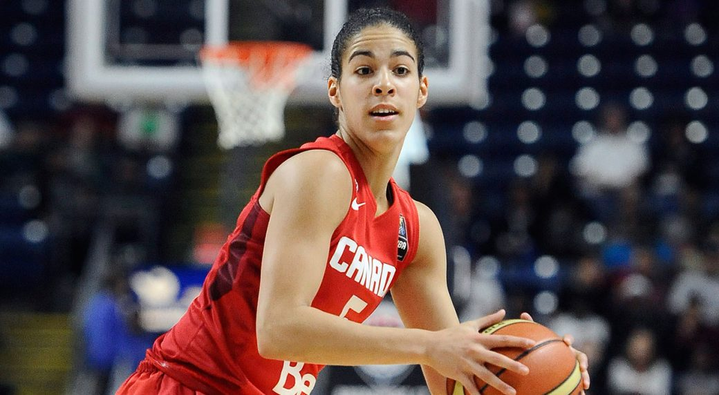 Kia Nurse erupts, Canada beat South Korea at FIBA World ...