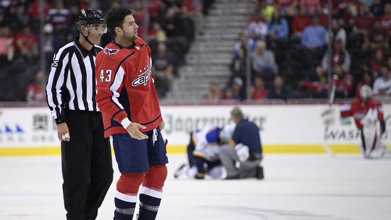 7637f2aef44 Capitals forward Tom Wilson s 20-game suspension reduced to 14 ...