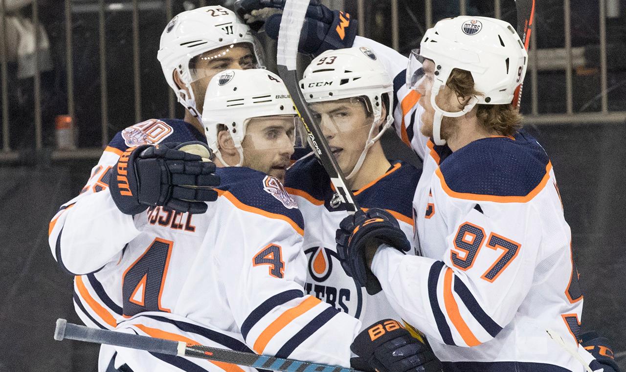 McDavid's power play goal leads Oilers over Rangers