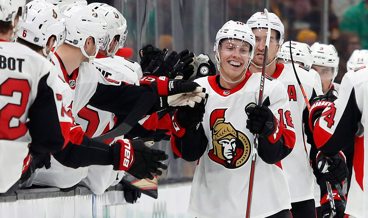 Borowiecki says Senators are galvanized by doubters