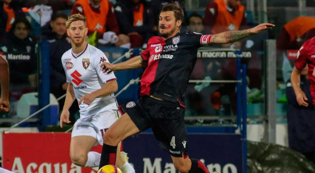 Cagliari Draws Against Torino To Step Toward Serie A Safety