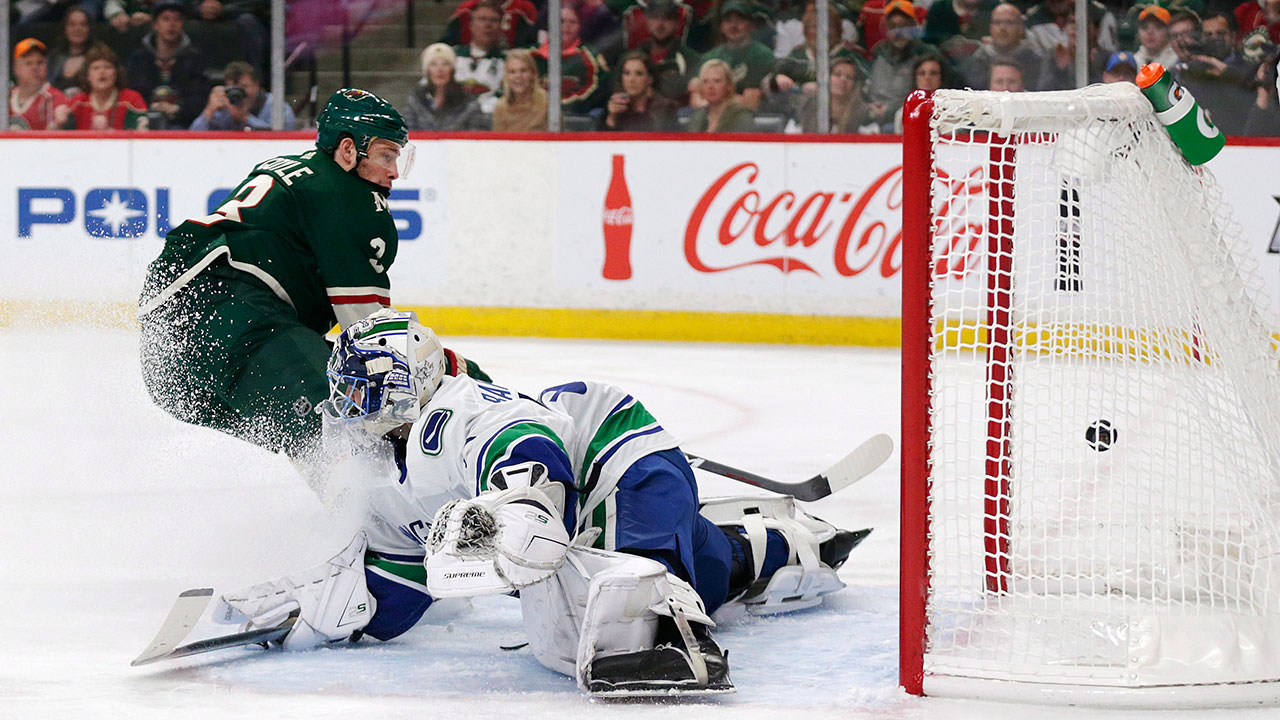 In Need Of Spark, Canucks' Bachman Turns In Nightmare Start