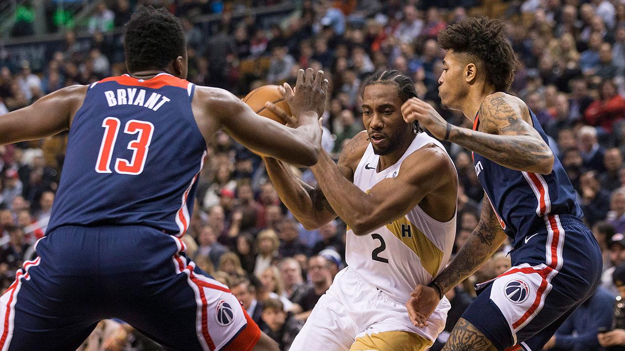 Kawhi Leonard leads Raptors to win over Wizards - Sportsnet.ca 81c35c03f