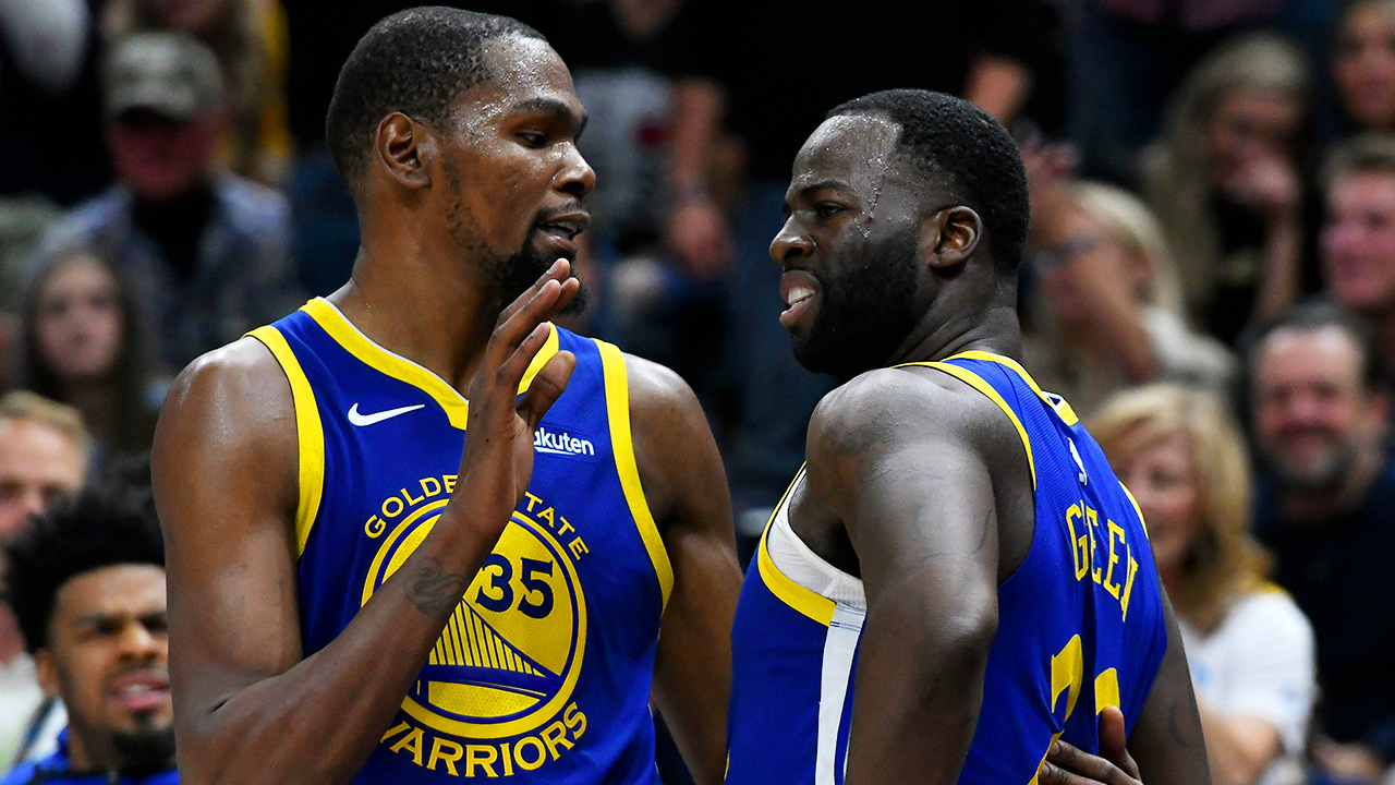 Kevin Durant; Draymond Green; Golden State Warriors
