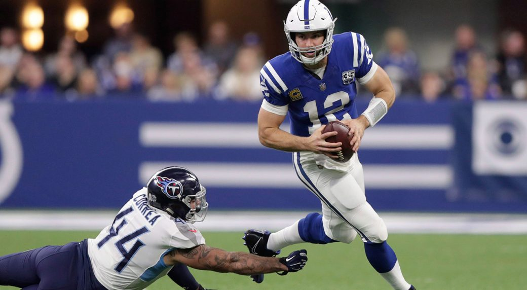 fffe772c1bd Week 17 NFL picks against the spread  Can Luck lead Colts to playoffs