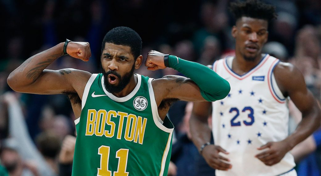 59c2af2ccdf Kyrie Irving dazzles with 40 to lead Celtics over Sixers - Sportsnet.ca