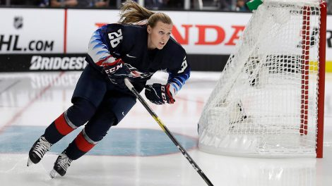 Kendall-Coyne-Schofield-skates-during-the-skills-competition-at-NHL-All-Star-Weekend