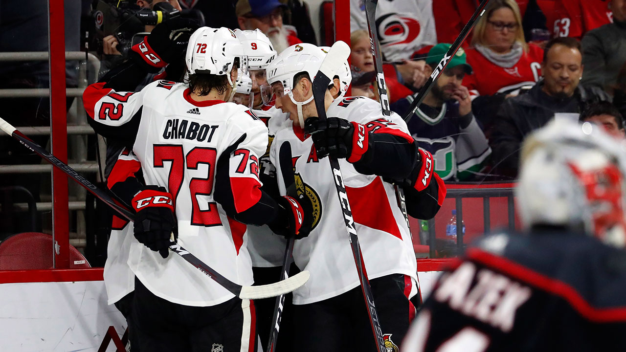 Oh Carolina. Win Over Hurricanes Has Senators' Pendulum Swinging In Right Direction