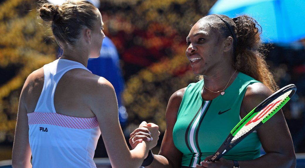 Serena stunned by Pliskova at Australian Open