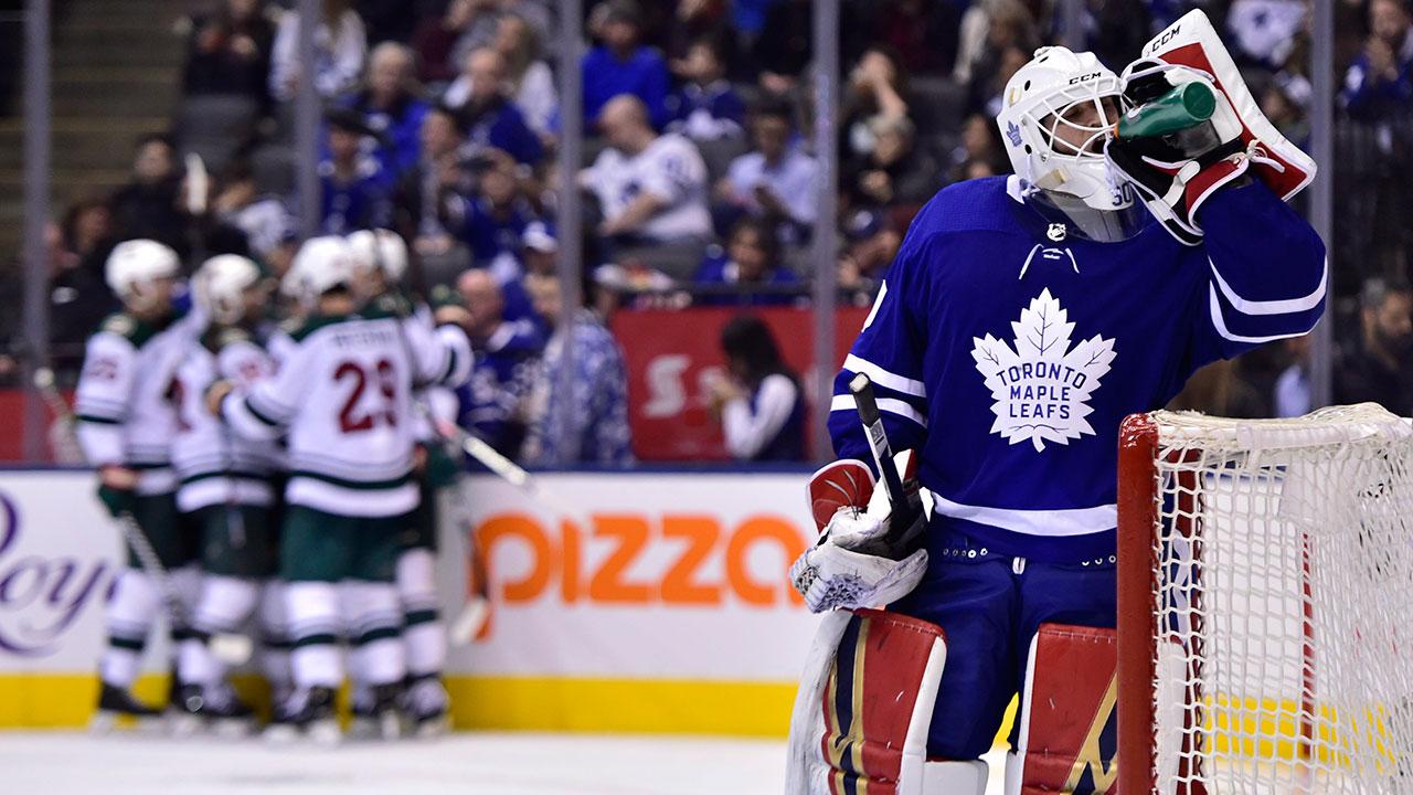 c86120356ea Parise scores winner, Dubnyk solid in net as Wild down Maple Leafs ...