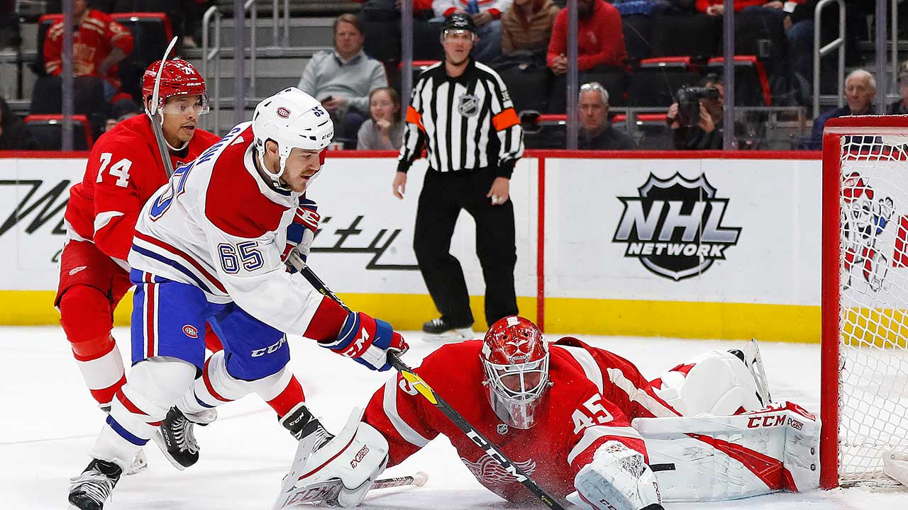 Habs Crush Detroit In An 8-1 Laugher