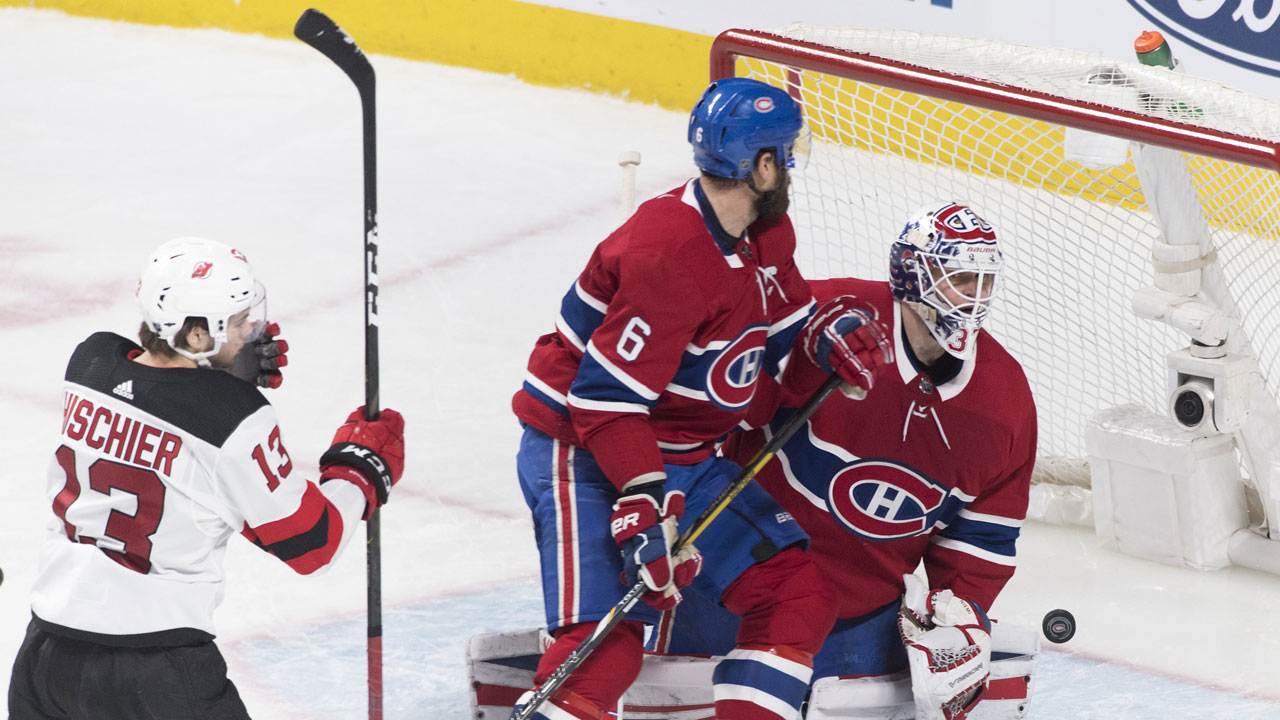 3783e0964 Hischier scores overtime winner to lift Devils over Canadiens ...