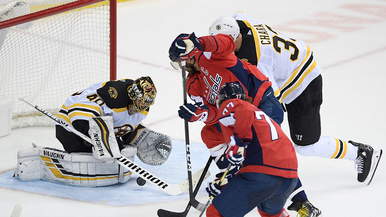 Bruins shut out Capitals to end 14-game skid vs. Washington ... b2b42b97be5