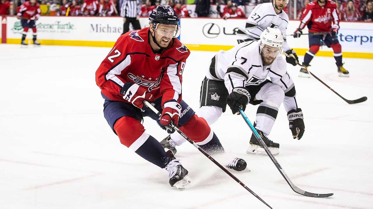 Kuznetsov And Caps Handle Kings And Quick