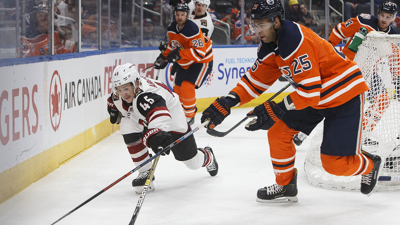 Oilers Fall To Coyotes Without McDavid