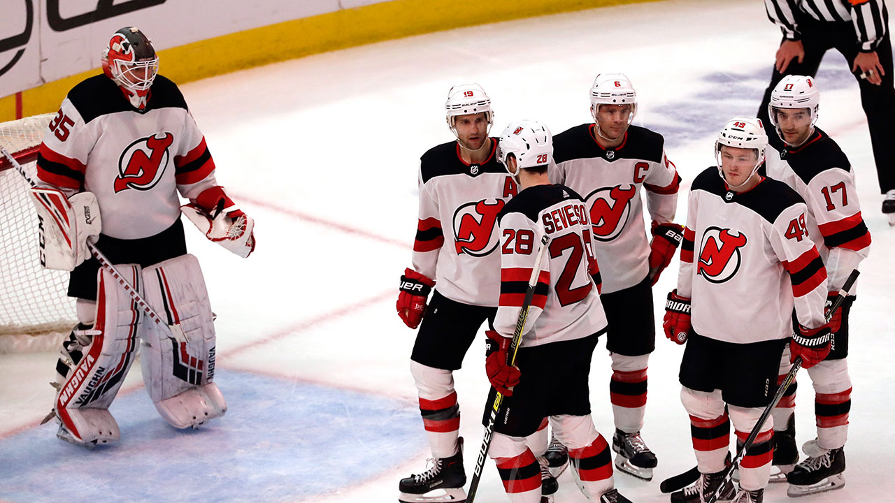 Cory's Finally Off The Schneid! Devils' Tender Wins His First Game In 14 Months.