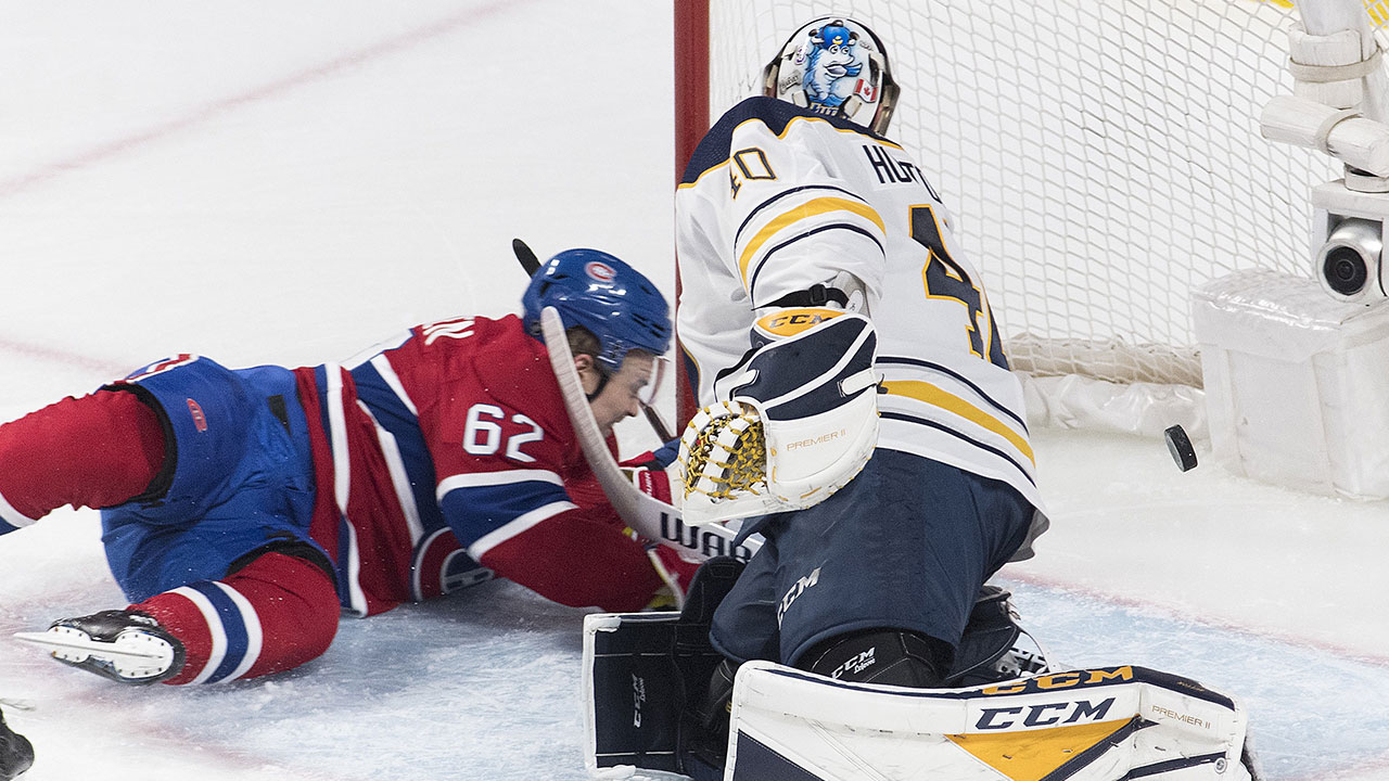 Three-For-All. Canadiens' Forwards Rack Up The Points In Rout Of Sabres